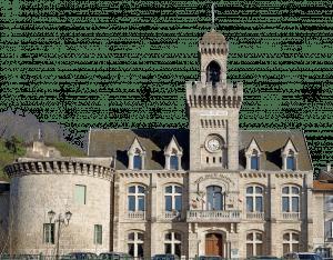 la ville de Chabeuil